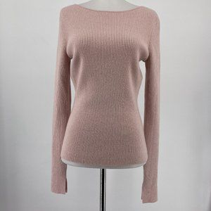 Elizabeth And James Fay Tie Back Ribbed Knit